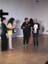Apertura dei tre giorni a Spazio Tadini con Paola Banone IDC-ITI Unesco e Carmen Galli