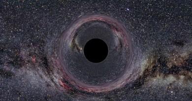 Probabile aspetto di un buco nero stellare