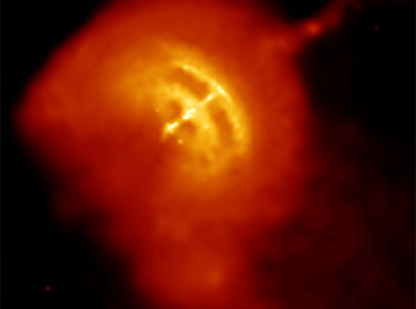 Immagine ai raggi X della Pulsar delle Vele