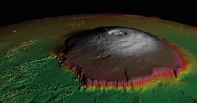 Monte Olipo agli infrarossi