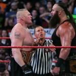 WWE SPOILER RAW: Braun Strowman manda un messaggio a Lesnar