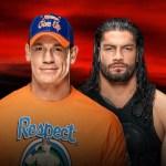 WWE: Spoilerato finale di Cena vs Reigns?