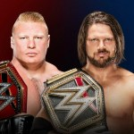 WWE: Come finirà Brock Lesnar vs AJ Styles?