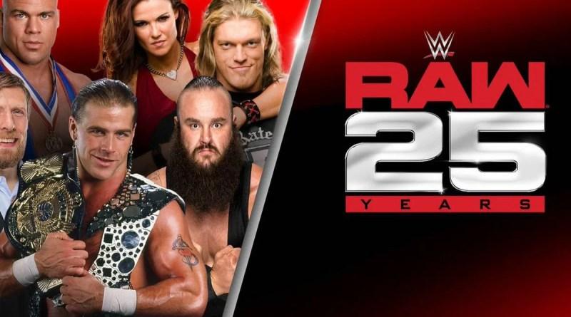 WWE: Pubblicato il video d'apertura per Raw 25