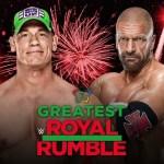 WWE: John Cena vs Triple H a Greatest Royal Rumble
