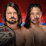 WWE: Shinsuke Nakamura vs AJ Styles avrà una stipulazione speciale?