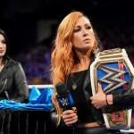 WWE: Becky Lynch critica una scelta della WWE