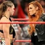 WWE SPOILER RAW: Aggiornamenti su Becky Lynch vs Ronda Rousey di Wrestlemania