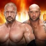 WWE: Triple H commenta il suo match con Batista a Wrestlemania 35