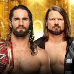 WWE: Importanti dettagli su Seth Rollins vs AJ Styles