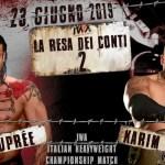 IWA: Renè Dupree sfida il campione Karim Brigante