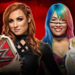 WWE: Asuka commenta il match contro Becky Lynch