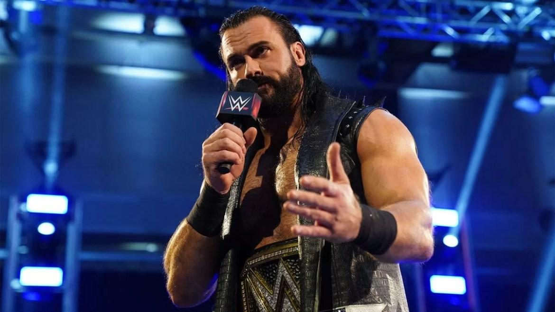 WWE: Annunciato match a Raw con Drew McIntyre protagonista