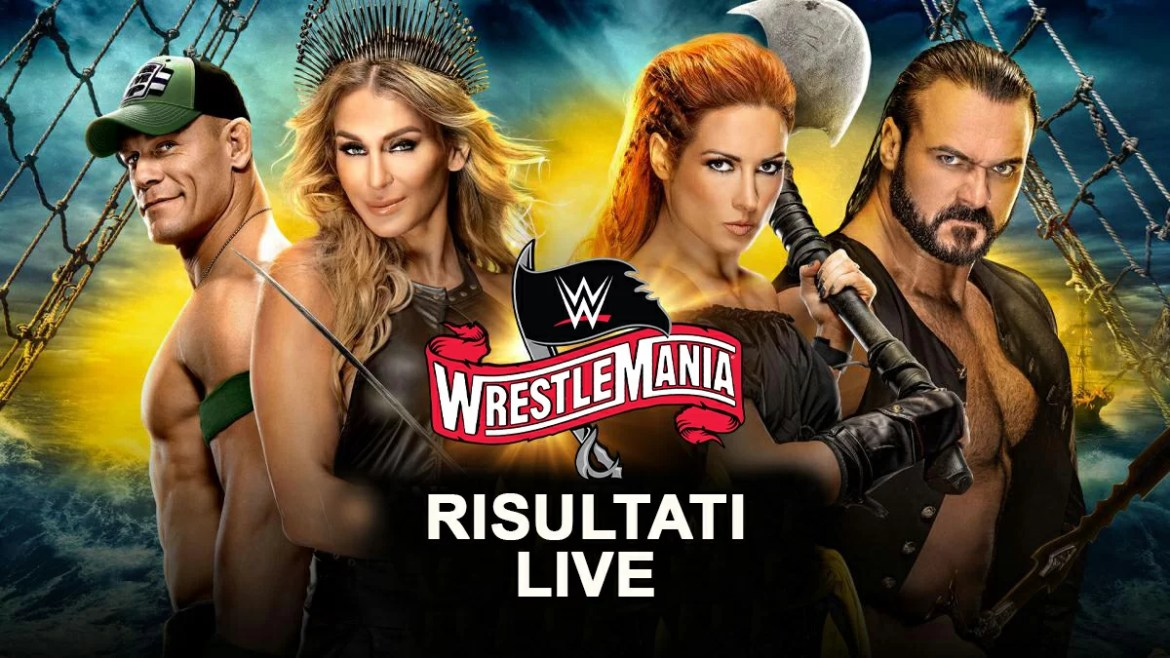 WWE: Risultati LIVE WrestleMania 36 (part 2)