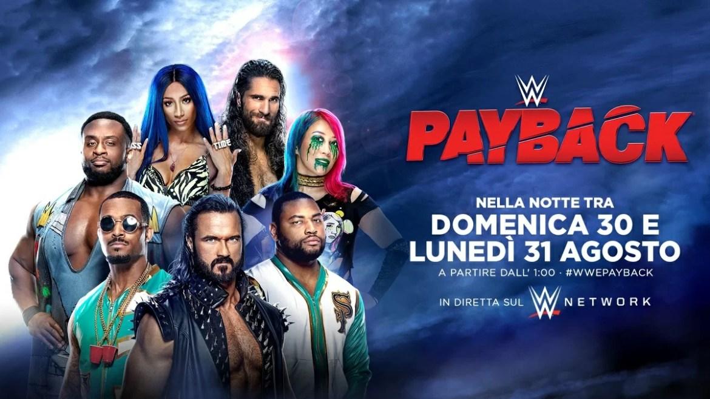 WWE: Risultati Payback 2020