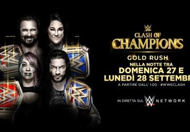 WWE: Risultati Clash of Champions 2020