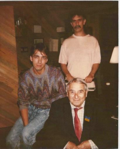 Sergey Kuryokhin with Frank Zappa