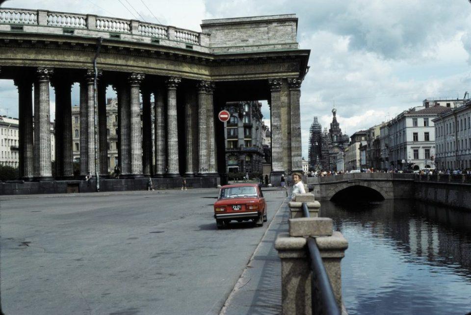 Ностальгия по СССР: Ленинград в цвете в 1975 году