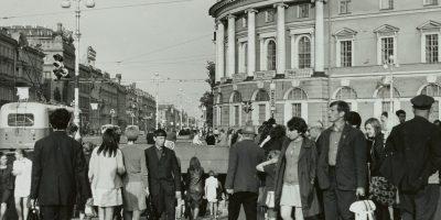 Редкие рето-фотографии: Ленинград глазами немецкого журналиста \ 1969-1971гг