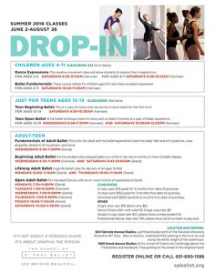 Drop-in classes flyer_summer2016_image