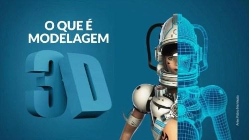 Modelagem 3D / Fonte: Saga