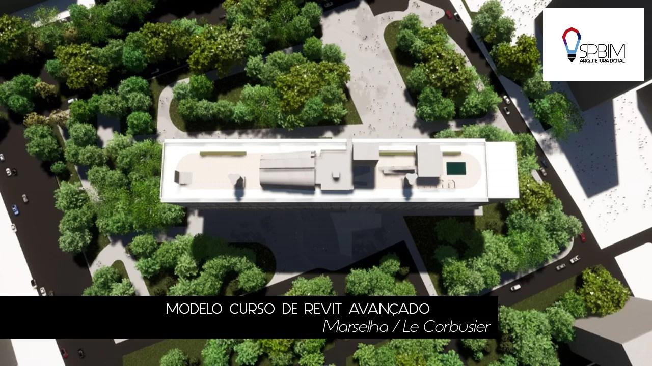 Marselha Le Corbusier Curso de Twinmotion SpBIM