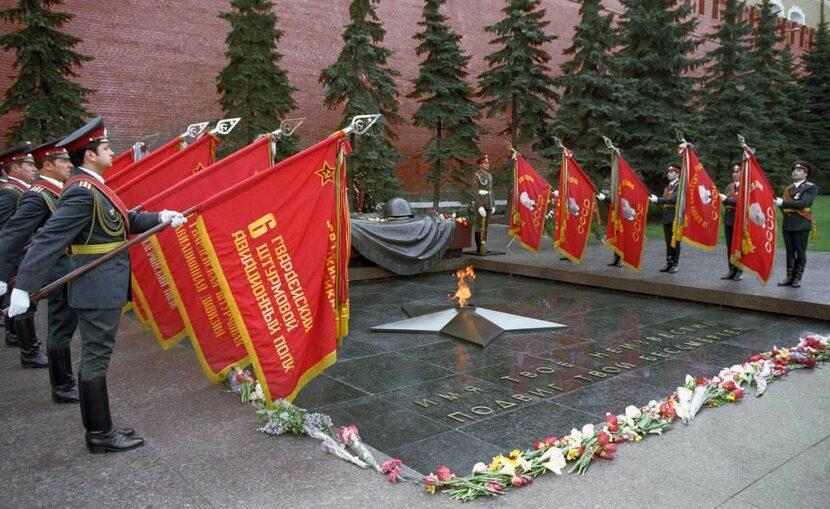 Александровский сад и Могила Неизвестного Солдата
