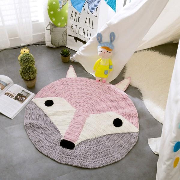 Fox Woven Floor Mat