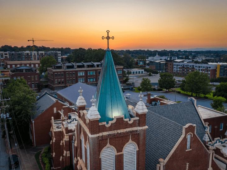 spcgreenville church cross