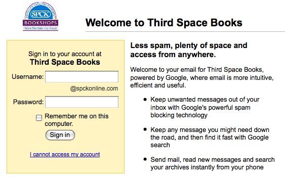 Gmail Login, 21/11/2008