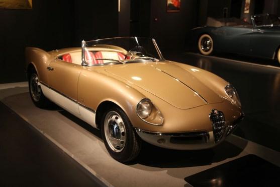 Alfa Giulietta Spider Bertone Prototype 1956