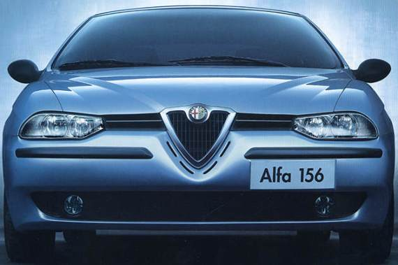 Alfa's Offset Number Plate