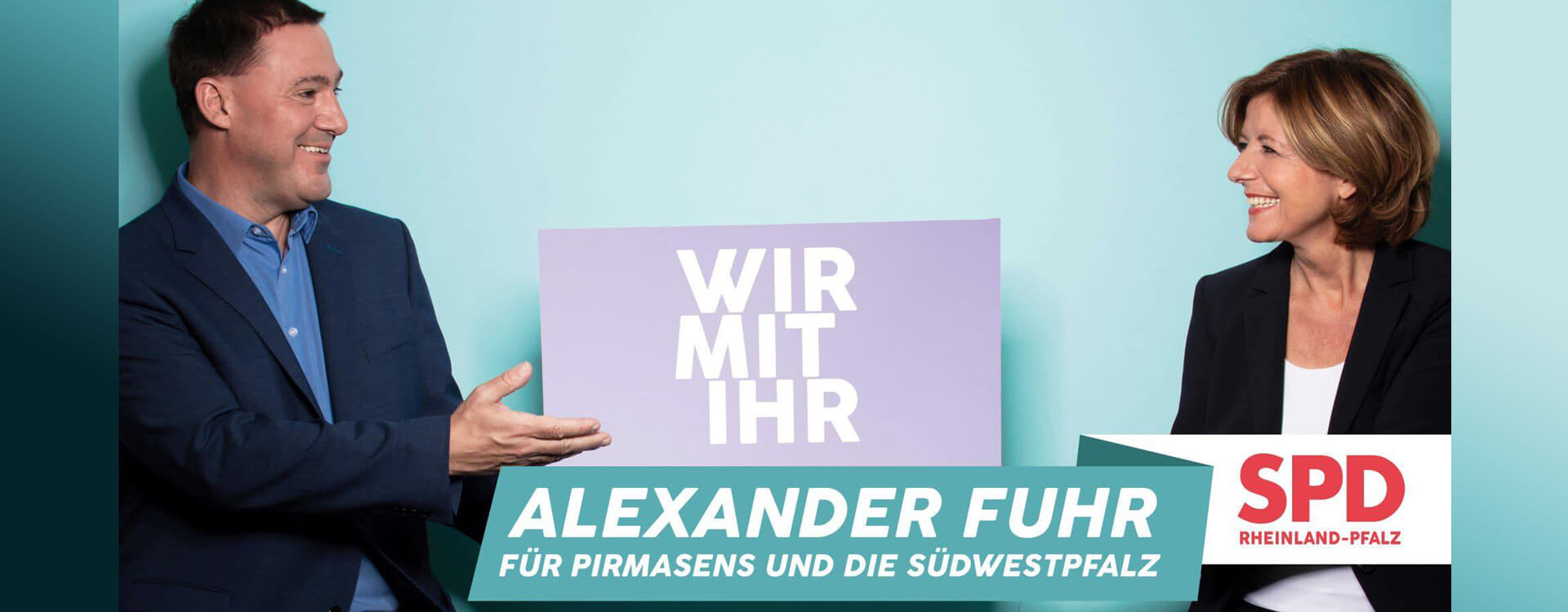 SPD Rheinland-Pfalz Wir mit Ihr Alexander Fuhr