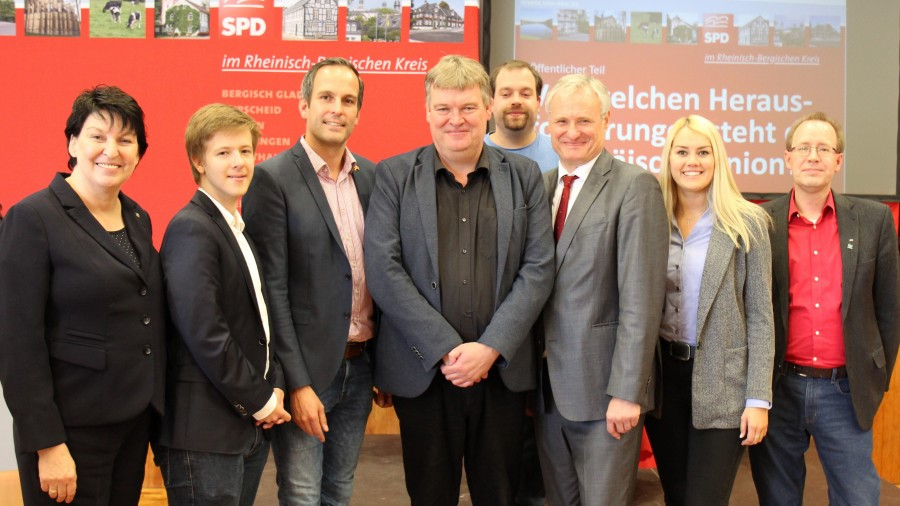SPD stellt sich den Herausforderungen an Europa