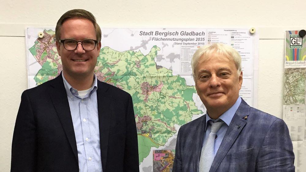 Michael Metten und Klaus W. Waldschmidt | Bild: © SPD-Fraktion Bergisch Gladbach