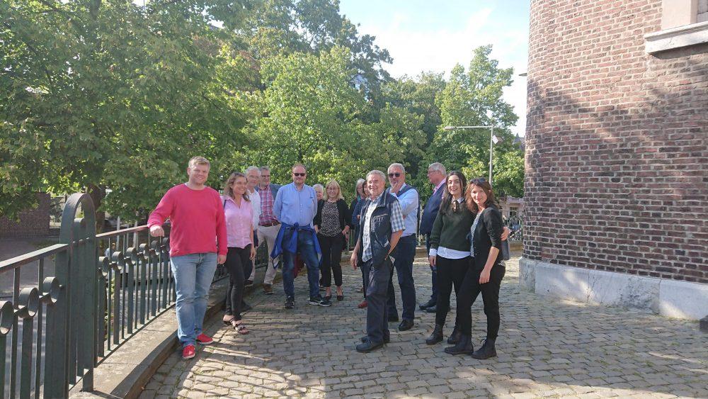 SPD-Kreistagsfraktion zu Besuch in Aachen