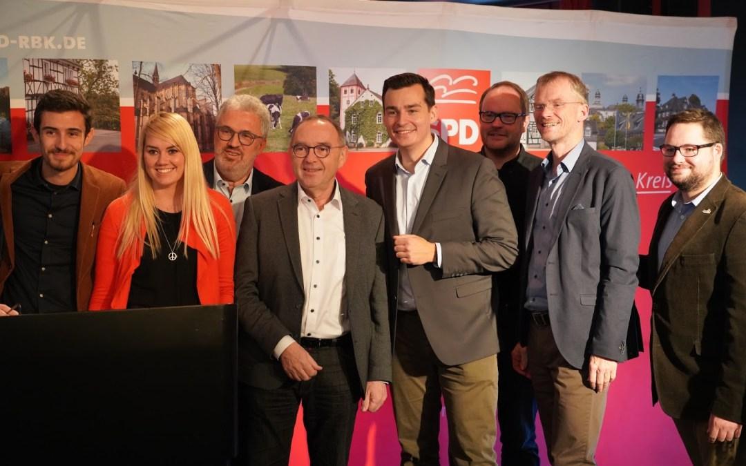 Generationenwechsel bei der SPD im Rheinisch-Bergischen Kreis