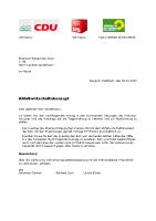 Gemeinsamer Antrag Abfallwirtschaftskonzept