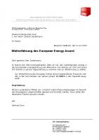 Änderungsantrag der SPD zur Fortführung des European Energy Award