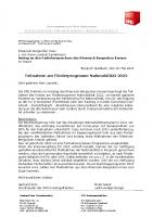 Teilnahme am Förderprogramm Nahmobilität 2022