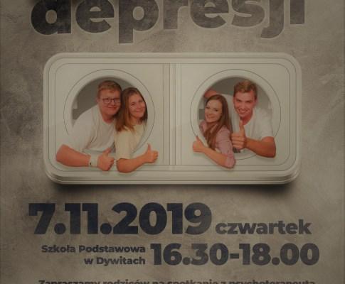 """Spotkanie """"stop depresji"""""""