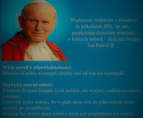 Quiz – Jan Paweł II