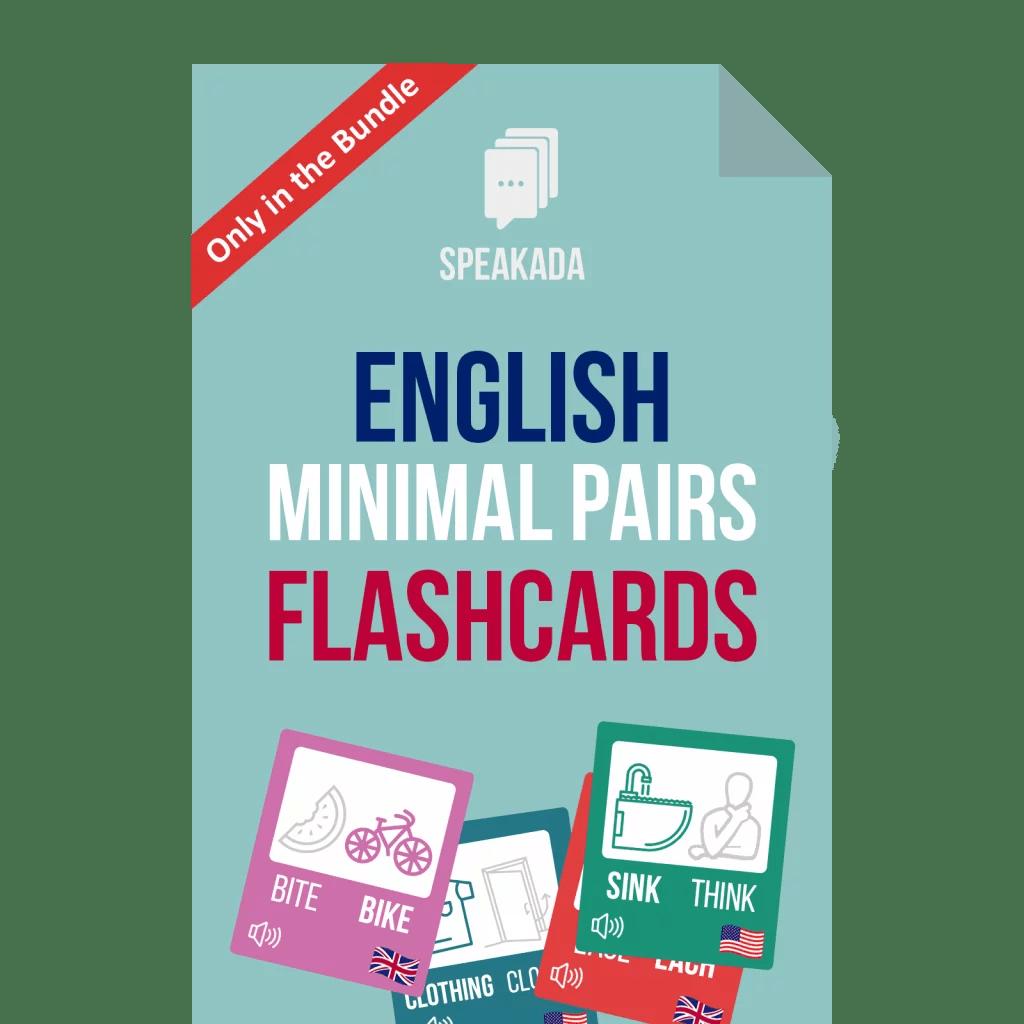 English Minimal Pairs Examples Anki Flashcards
