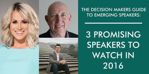 emerging speakers