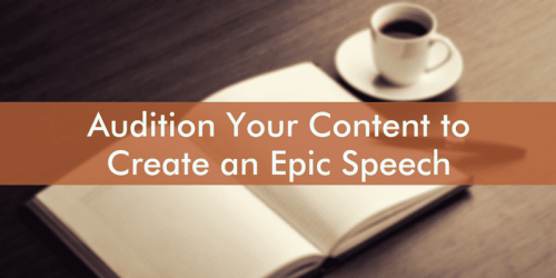 audition your content