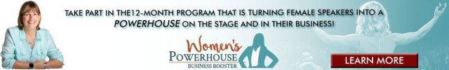 Womens powerhouse business booster