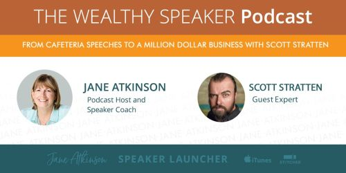 scott stratten from cafeteria speeches to million dollar business