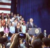 And the man himself: President Obama.