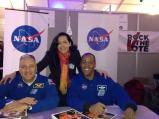 Uber-cool Astronauts Michael Massimino and Benjamin A. Drew.