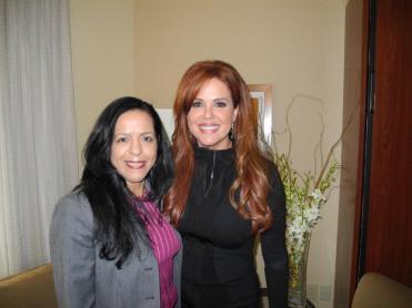 "Telemundo's ""Al Rojo Vivo"" María Celeste Arrarás. October 2012."